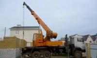 Применение автокранов в строительстве
